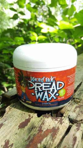Knotty Boy Dread Wax 4oz Dark Main