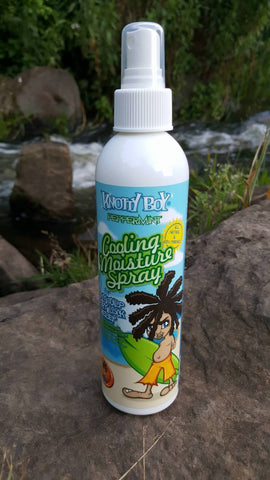 Knotty Boy Peppermint Cooling Spray 8oz Shoot