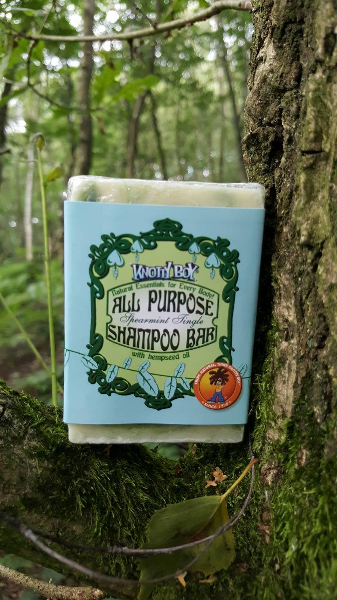 KNOTTY BOY - Spearmint - All Purpose Dreadlocks Shampoo Bar 4oz