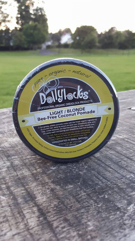 Dollylocks Dreadlocks Pomade 4oz Light Shoot