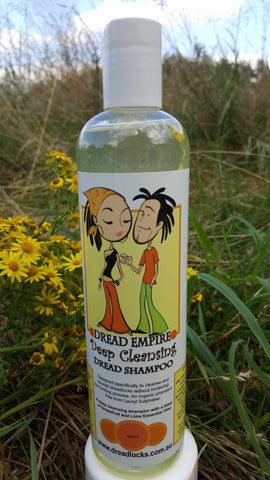 Dread Empire Deep Cleansing Liquid Shampoo Shoot