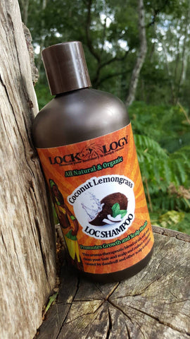 Lockology - Liquid Shampoo - Coconut Lemongrass