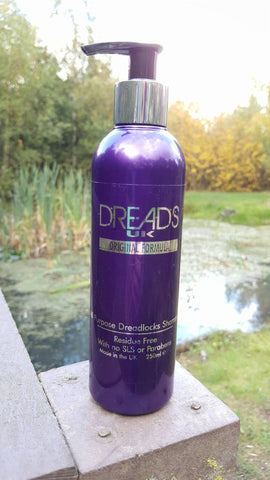 DreadsUK – Liquid Dreadlocks Shampoo (250ml)