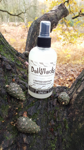 Dollylocks Refreshening Spray for Dreadlocks – Pine Mint