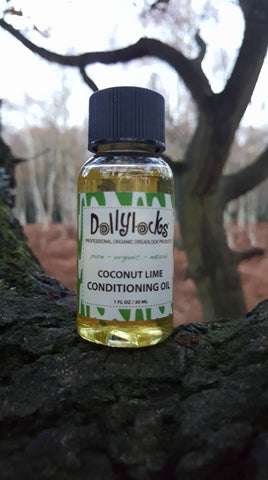 Dollylocks Dreadlocks Conditioning Oil Coconut Lime 1oz/30ml/Travel Size 2