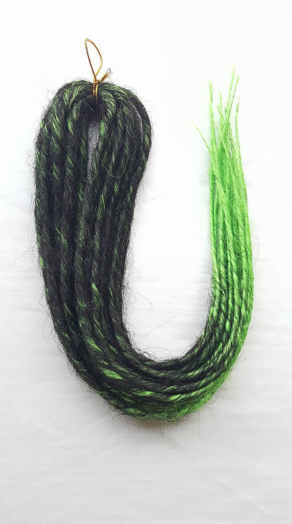 Elysee Star Black-Green Trans DE Dreadlocks