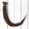 DreadLab Double Ended Dreadlock Extensions Brown