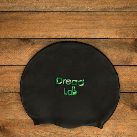 DreadLab Medium Large Black Dreadlocks Swim Cap 2
