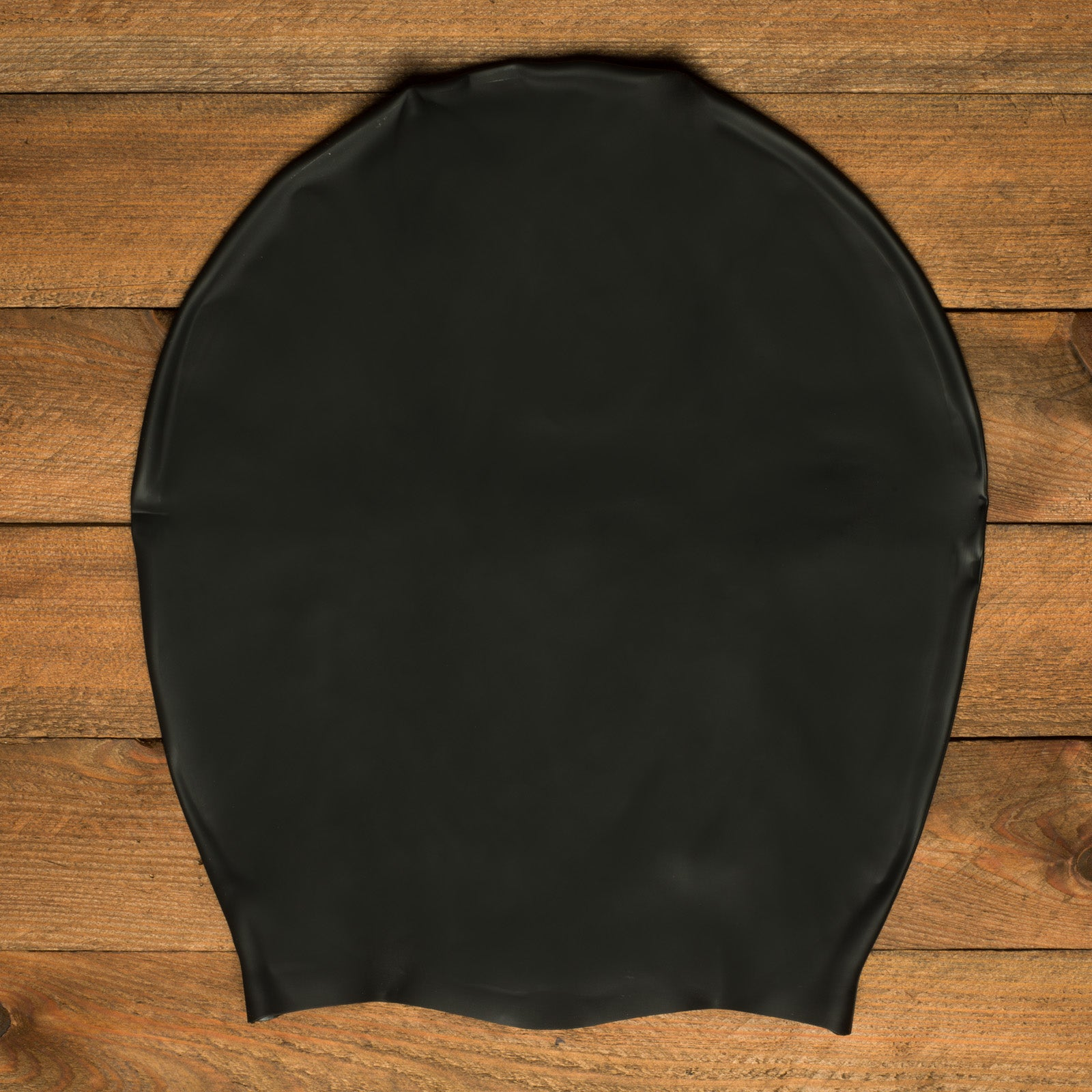 DreadLab - Extra Large Swim Cap (Plain Black - NO LOGO) Dreadlocks/Braids/Weaves/Extensions