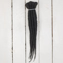 Dreadlab Single Ended Synthetic Dreads Short Black