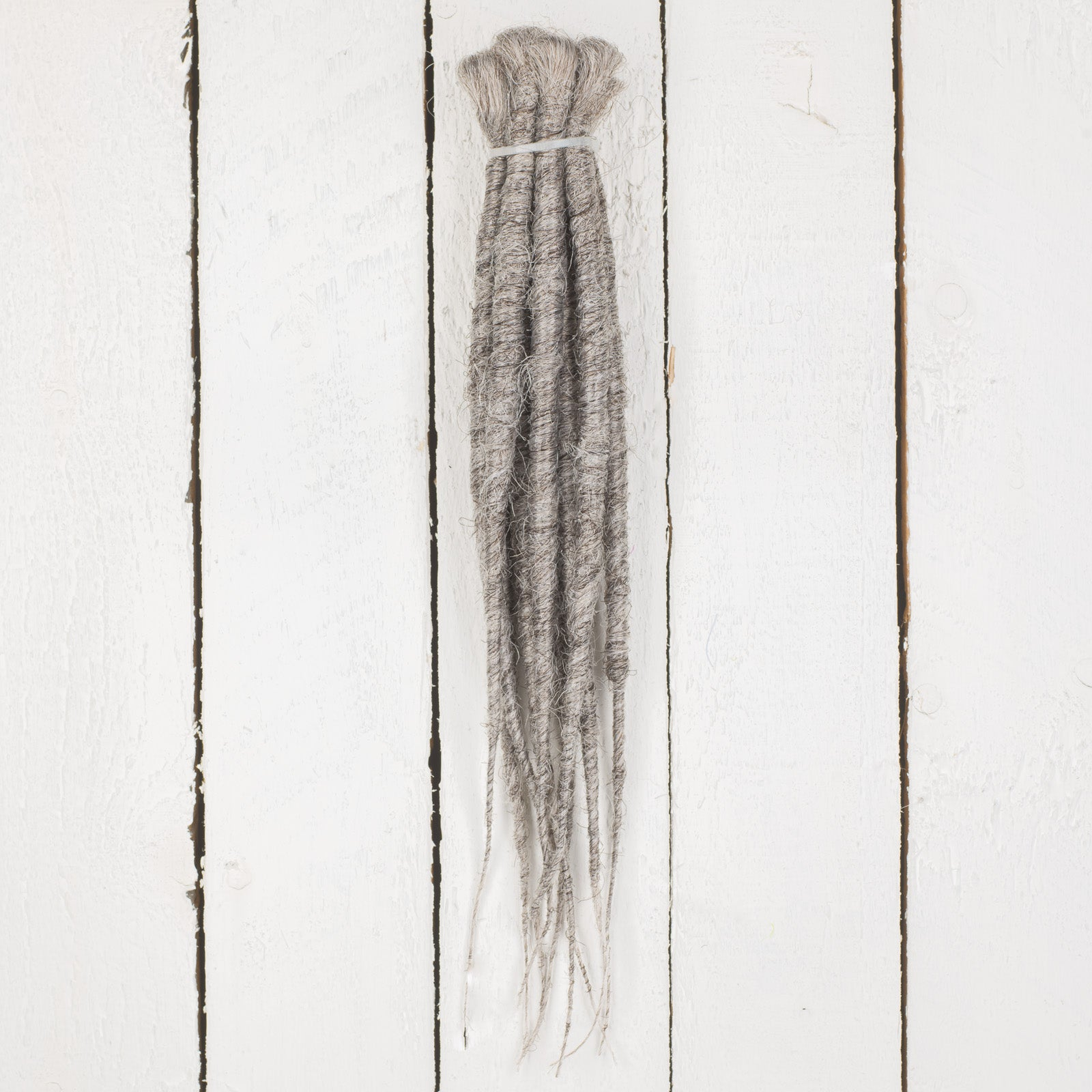 DreadLab -  Short Single Ended Synthetic Dreadlocks (Full Head Kit) Backcombed Extensions