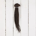 Dreadlab Double Ended Synthetic Dreads Short Dark Brown