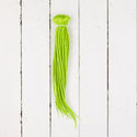Dreadlab Double Ended Synthetic Dreads Short Spring Green