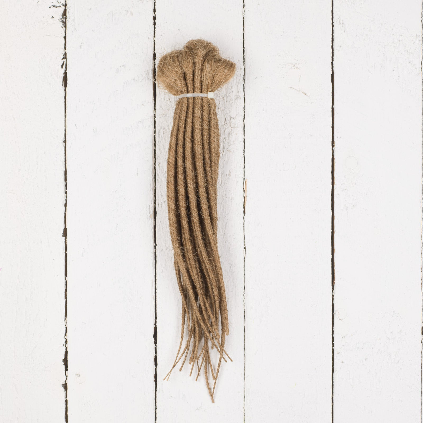 DreadLab -  Short Double Ended Synthetic Dreadlocks (Full Head Kit) Backcombed Extensions