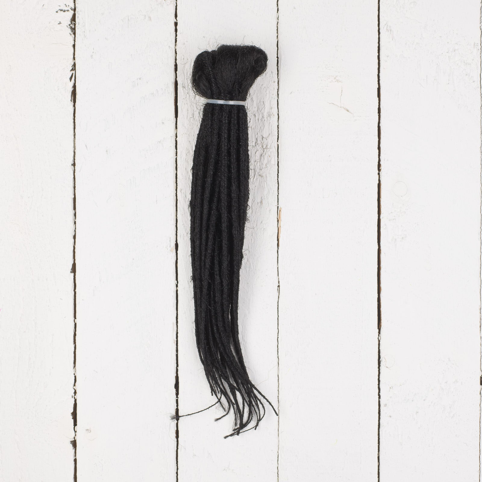 Dreadlab Double Ended Synthetic Dreads Short Black