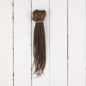 Dreadlab Double Ended Synthetic Dreads Short Brown