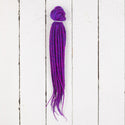 Dreadlab Double Ended Synthetic Dreads Short Fuchsia Blue