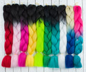 "DreadLab - Synthetic Kanekalon Jumbo Braid Hair Two Tone (24""/60cm)"