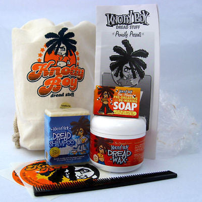 Knotty Boy Dreadlocks Starter Kit Dark