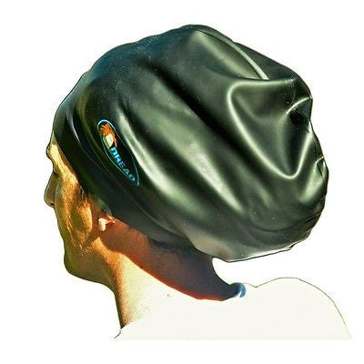 Dread Empire Extra Large Swim Cap Black