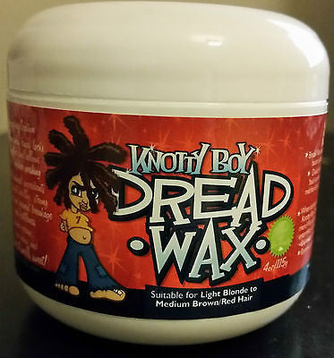 Knotty Boy, Dreadlock Wax Light Hair 4oz