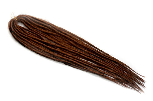 Elysee Star - #30 Reddish Brown Synthetic Dreadlocks (Double Ended) (10 Pack)