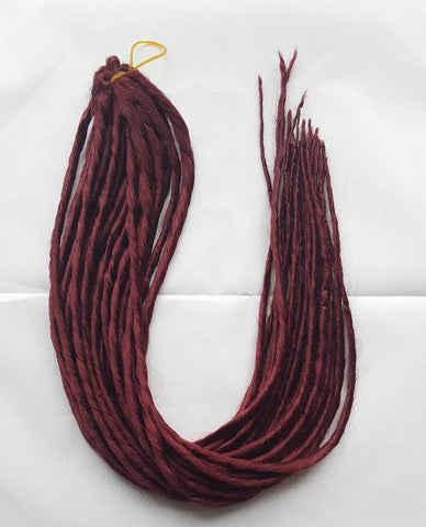 Elysee Star #39 Burgundy Red Dreadlocks