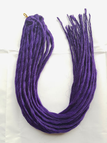 Elysee Star Dreadlocks Dark Purple