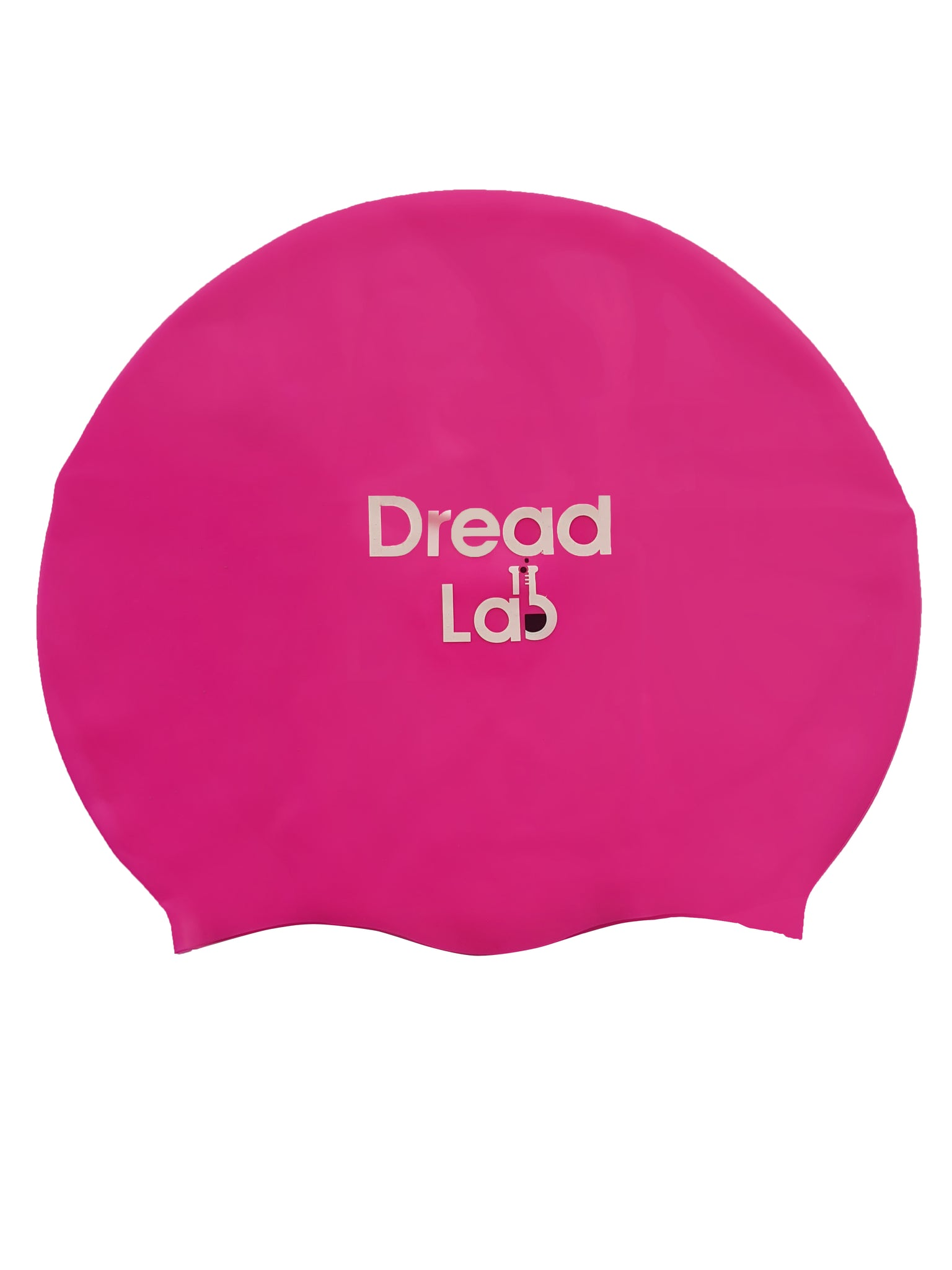 DreadLab Medium Large Swim Cap Shocking Pink
