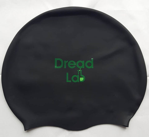 DreadLab Medium Large Black Dreadlocks Swim Cap