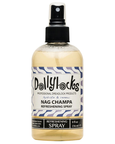 Dollylocks - Dreadlocks Refreshening Spray - Nag Champa (8oz/227ml)