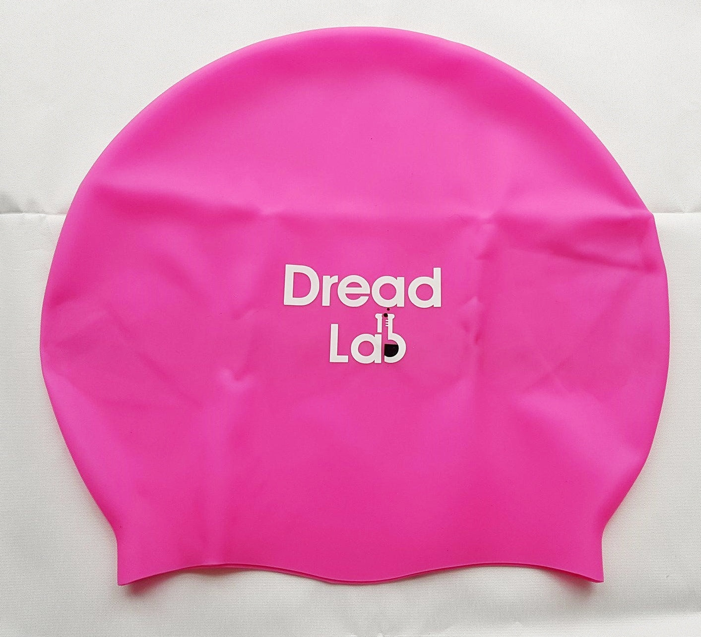 Dreadlab Large Dreadlocks Swim Cap Shocking Pink