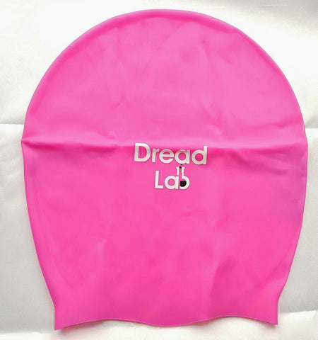 DreadLab - Extra Large Swim Cap (Shocking Pink) Dreadlocks/Extensions