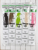 DreadLab -  Short Double Ended Synthetic Dreadlocks (Half Head Kit) Backcombed Extensions
