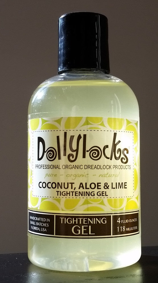 Dollylocks - Dreadlocks Tightening Gel  Coconut, Aloe & Lime (4oz/118ml)