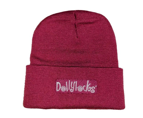 Dollylocks - Dreadlocks Pink Knit Cotton Beanie