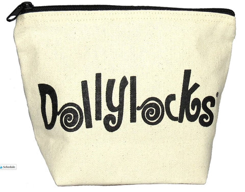 Dollylocks - Canvas Cosmetics Bag