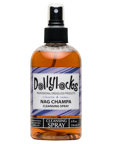 Dollylocks - Dreadlocks Cleansing Spray - Nag Champa (8oz/236ml)