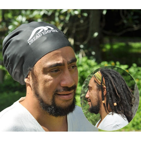 Dread Empire Large Swim Cap Black