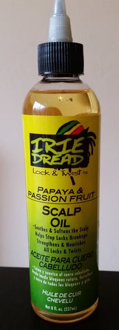 Irie Dread Scalp Oil (8oz/237ml)
