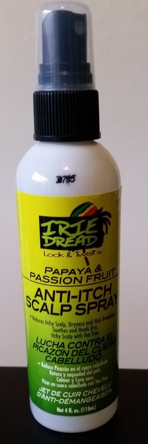 Irie Dread - Dreadlocks Anti-Itch Scalp Spray (4oz/118ml)
