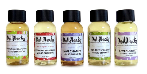 Dollylocks - Dreadlocks Liquid Shampoo Travel Size Set (5x 1oz)
