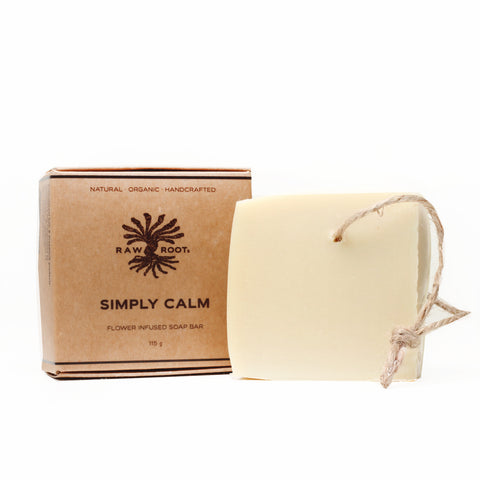 Raw Roots - Dreadlocks Soap Shampoo Bar - Simply Calm (120gm)