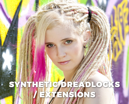 SE Dreads Synthetic Dreads Faux Dreads Dreadlock Wig Making Supplies Loc Extensions Dreadlock Extenesions Hair Extensions