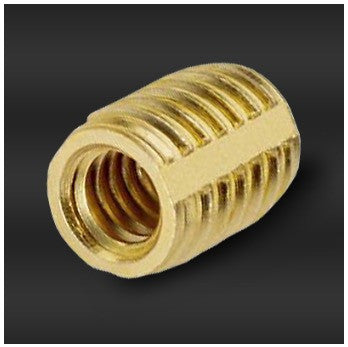 1/4-20 Brass Trisert Threaded Insert