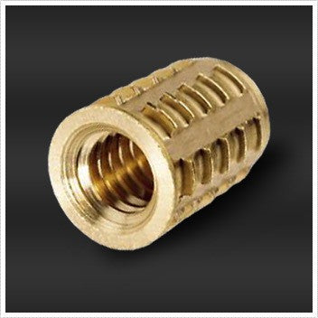 250-20 Threaded Sharp-Sert Brass Insert