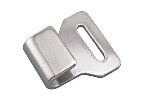 Stainless Steel Webbing Hook, 2""