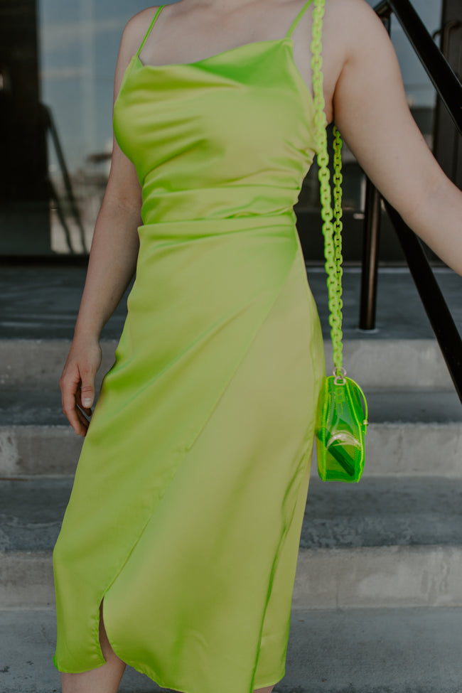 Glow Up Neon Slip Dress