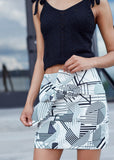 All Out Abstract Skirt