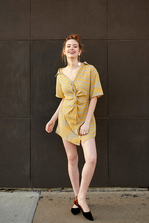 The Charleston Shirtdress